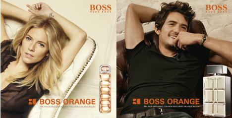 amostra gratis hugo boss orange