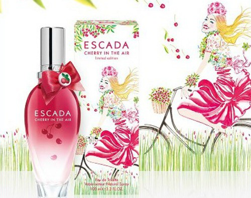 amostra gratis perfume escada cherry in the air