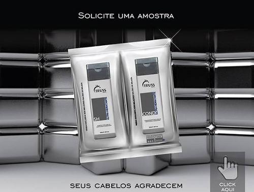 amostra gratis shampoo condicionador truss