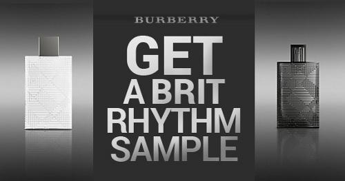 amostra gratis perfume brit rhythm