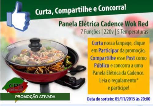 cps refrigeracao sorteio wok