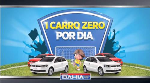 promoção goleada carros casas bahia