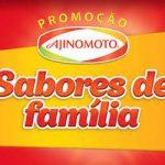 Promoção Ajinomoto – Sabores de Família