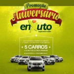 Promoção Aniversário Enxuto – 5 carros