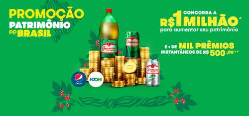 promocao antarctica patrimonio do brasil