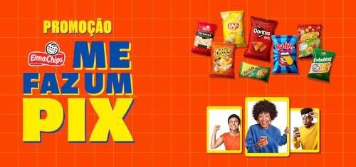 Promoção Elma Chips me Faz um Pix